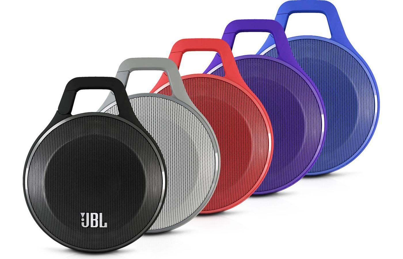 JBL Clip Portable Bluetooth Speaker, in 5 Colors,RECERTIFIED