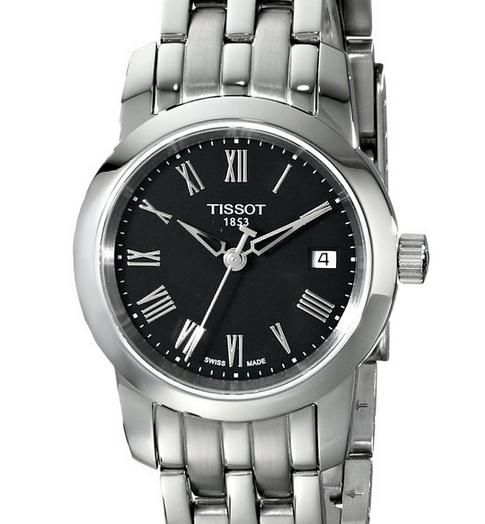 $162.09 Tissot Women's Dream Black Dial Watch