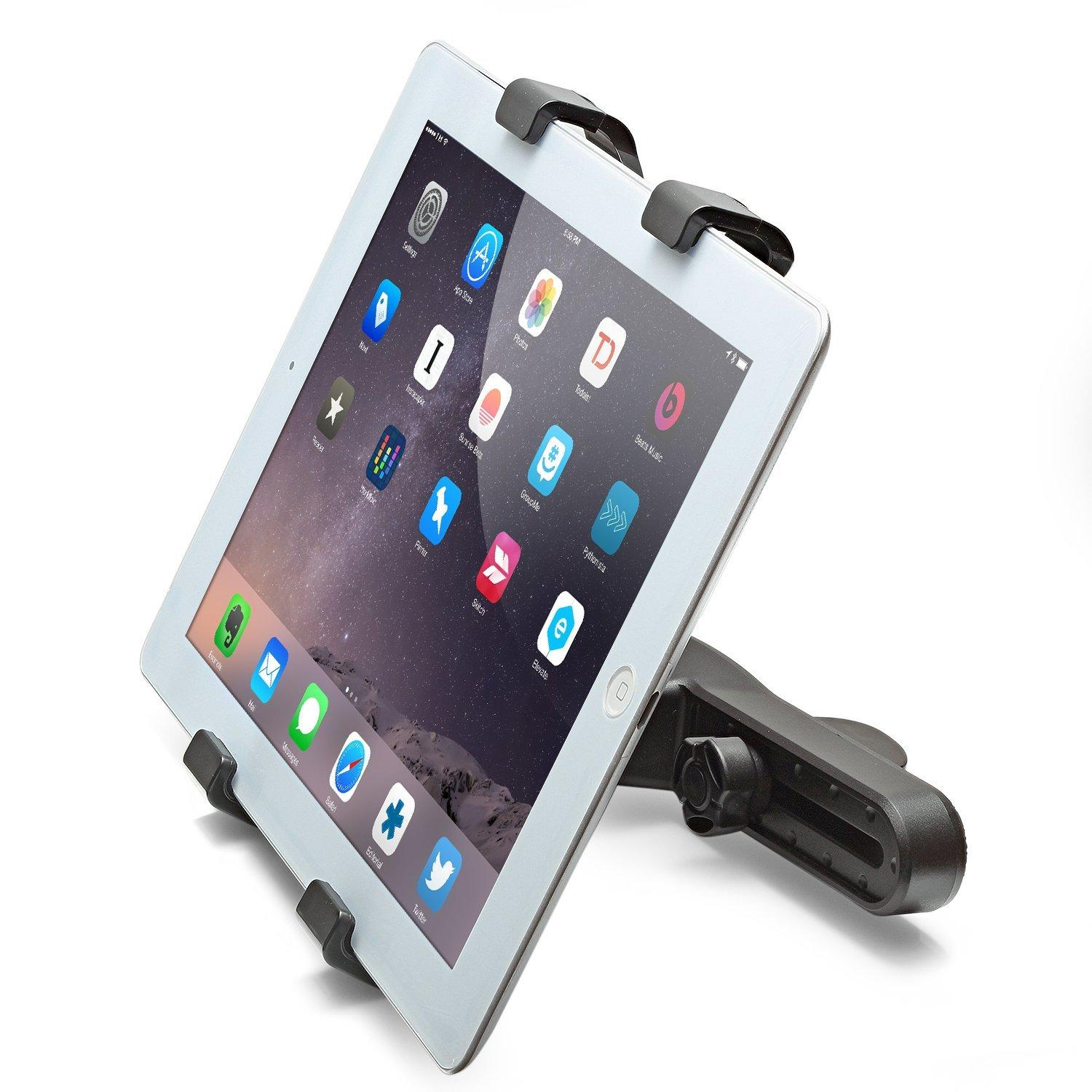 Aduro U-Grip Adjustable Universal Car Headrest Mount for Tablets
