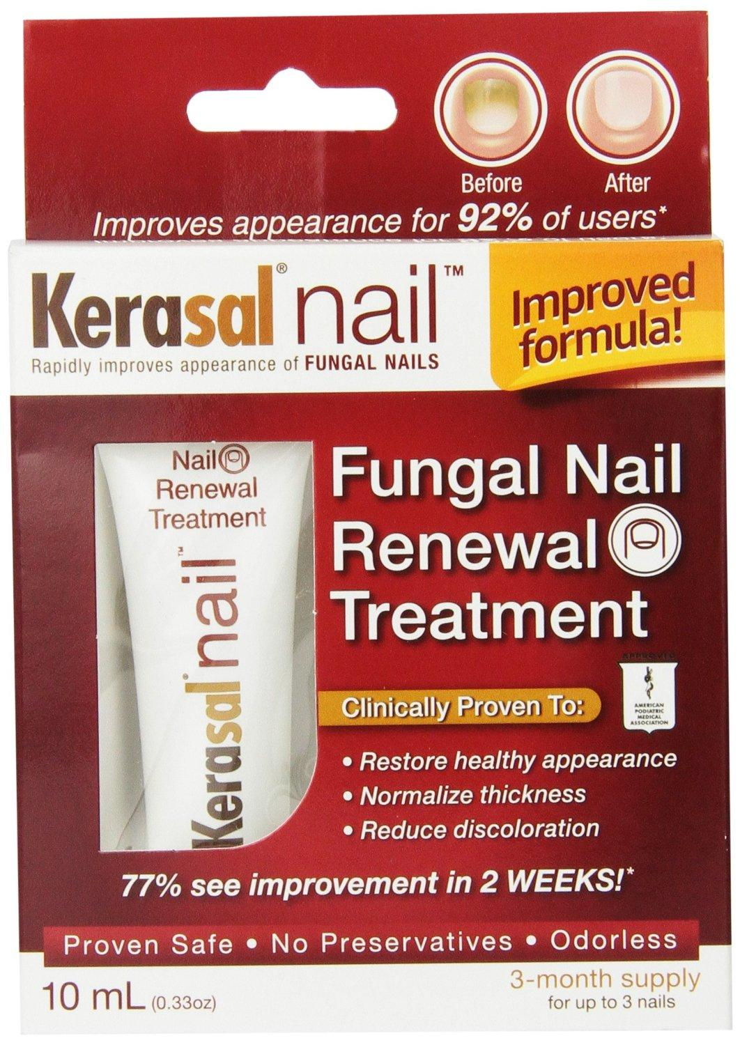 $19.86 Kerasal Nail Fungal Nail Renewal Treatment, 10ml