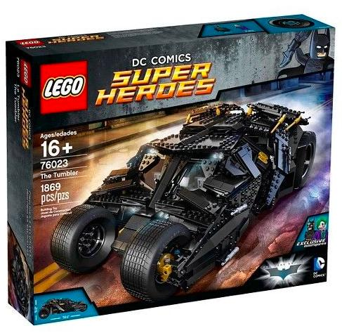 $199.95 LEGO Super Heroes The Tumbler 76023