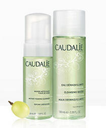 FREE Foaming Cleanser + Cleansing Water with $75 Order @ Caudalie