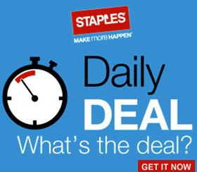 From $7.99 Great Deals from Staples Daily Deals