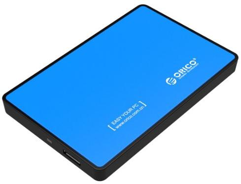 ORICO 2588US3 Tool Free USB 3.0 External Hard Drive Enclosure for 2.5