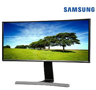 "$499.99 Samsung 29"" LED Curved HD 21:9 Ultrawide Monitor (S29E790C) + Free 4TB External HD"