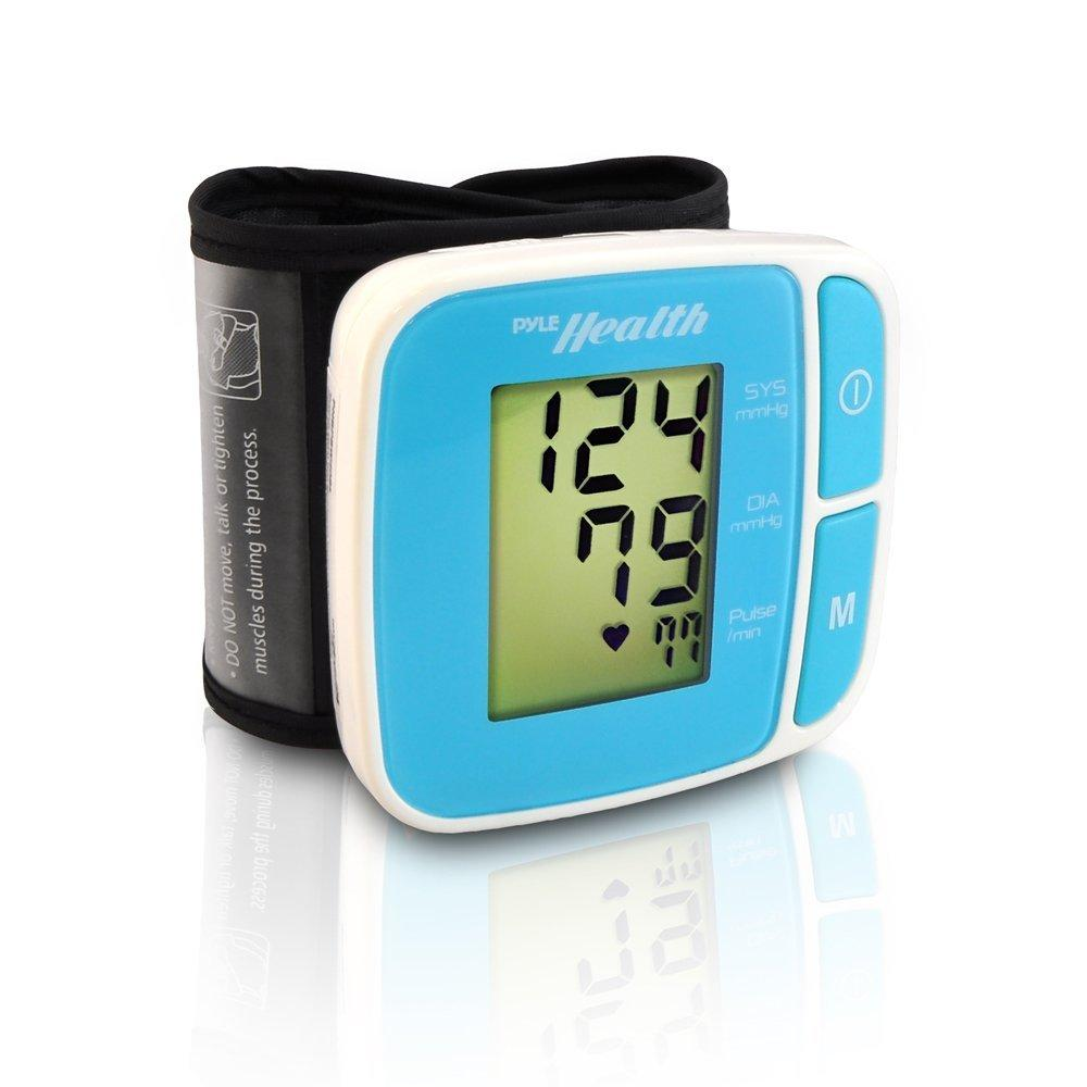 Pyle PHBPBW40BL Bluetooth Smart Blood Pressure Monitor