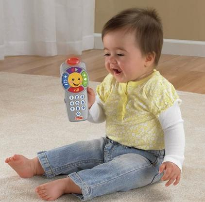 Fisher-Price Laugh & Learn Click 'n Learn Remote @ Amazon.com