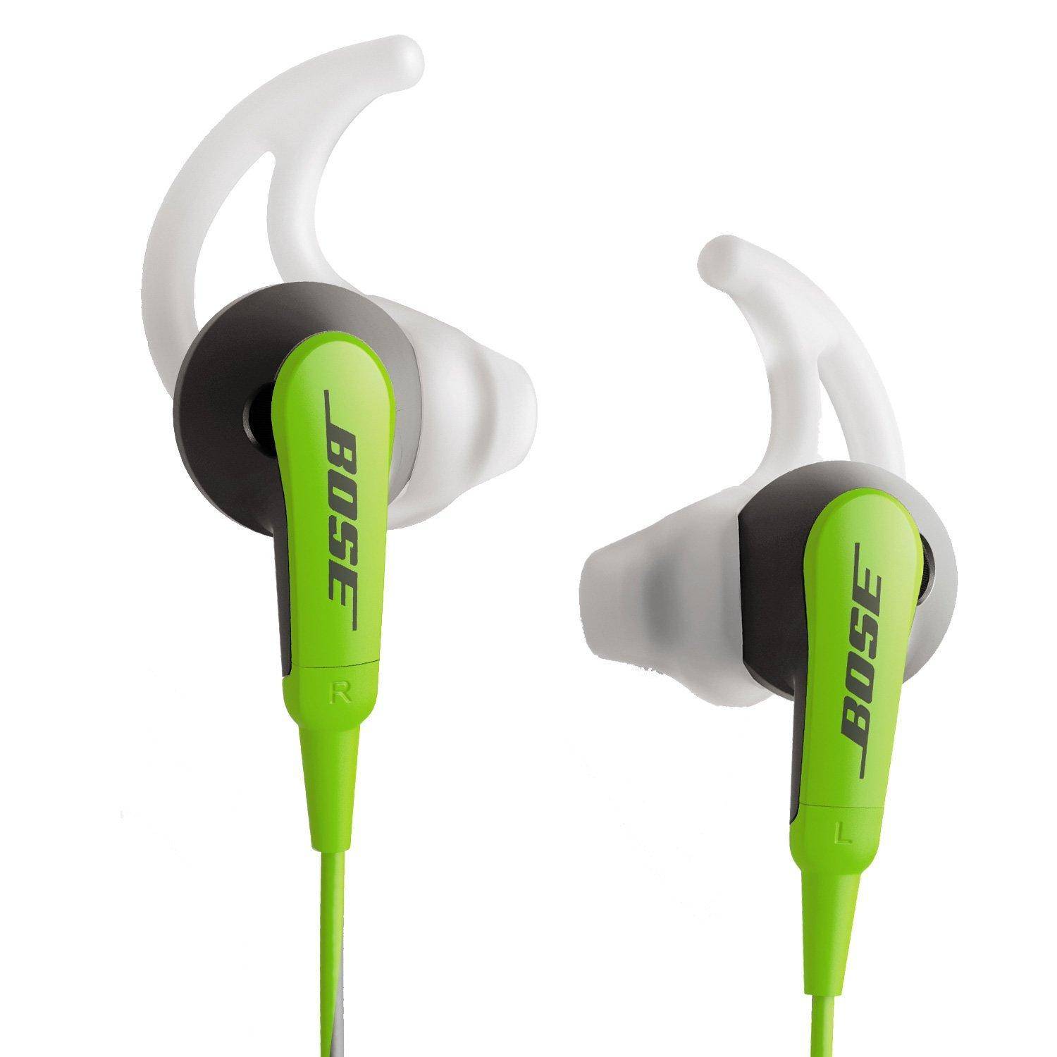 Bose SoundSport In-Ear Headphones for Samsung Galaxy Models, Green