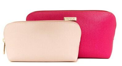 Furla Box Leather Cosmetic Case @ Nordstrom Rack