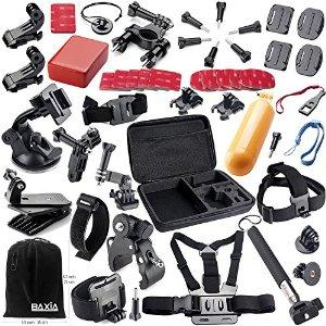 BAXIA TECHNOLOGY® GoPro Accessories Kit for GoPro 4 3+ 3 2