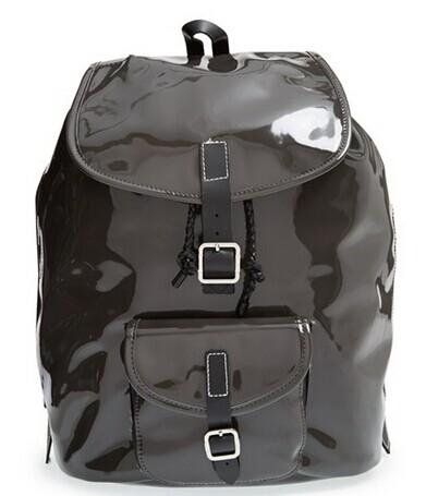 Harper Ave 'Philip' Neoprene & Faux Patent Leather Backpack @ Nordstrom