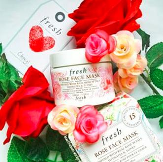 $62 Fresh Rose Face Mask 15th Anniversary Limited Edition