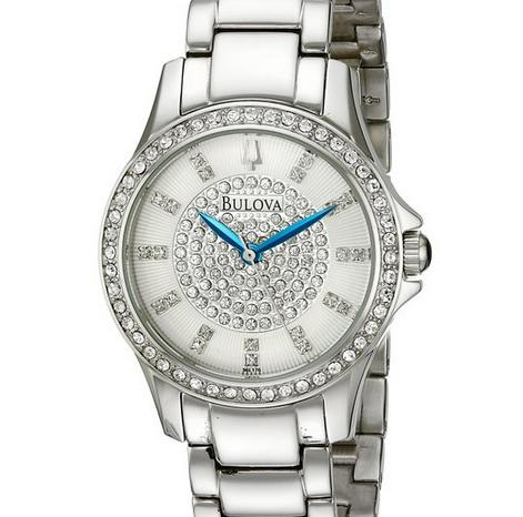 Bulova Women's 96L176 Analog Display Quartz Silver Watch