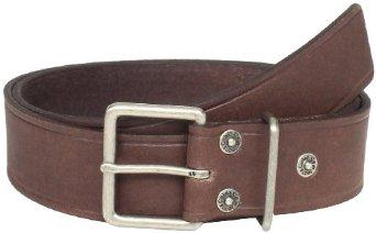Calvin Klein Men's 39mm Flat Strap with Heat Creased Buckle