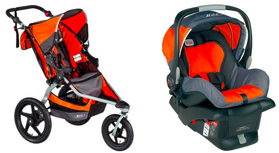 $379.99 BOB Revolution Flex Stroller+Free B-Safe Infant Car Seat