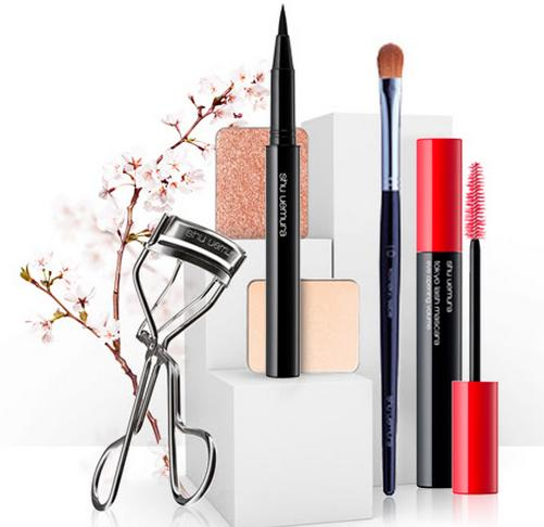 Free Deluxe Oil Set Samples with Any Order Over $50 @ Shu Uemura