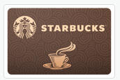 Up to 13% Off Starbucks Gift Cards @ Cardcash