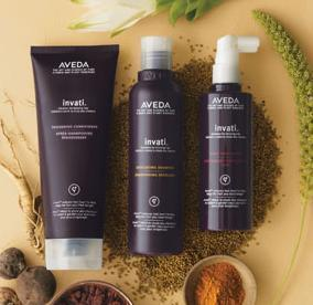 Free Shipping And A Sample Trio With Any $30 Order @ Aveda