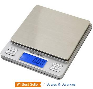 Smart Weigh Digital Pro Pocket Scale with Back-Lit LCD Display