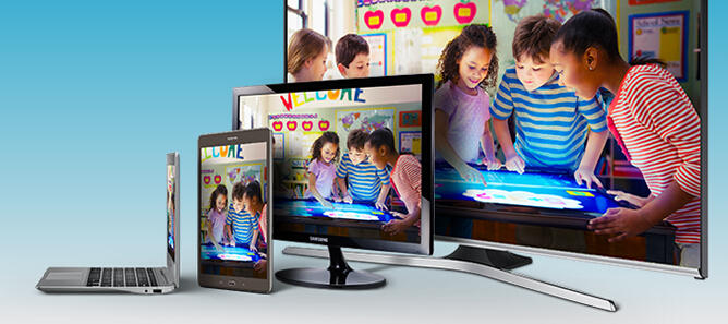 Up to 50% Off Select TVs, Camera, Tablet and more @ Samsung