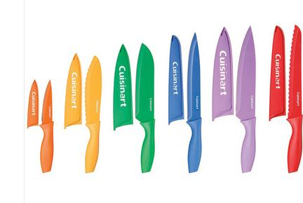 $20.99 Cuisinart 12 Piece Knife Set