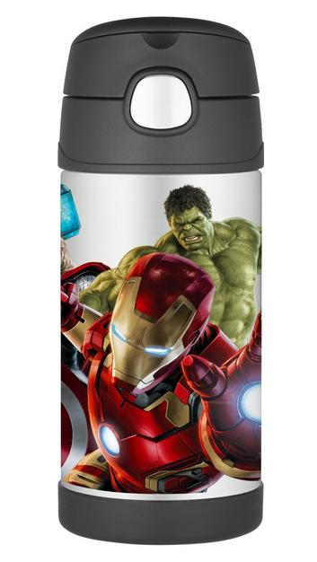 Thermos 12 Ounce Funtainer Bottle, Avengers