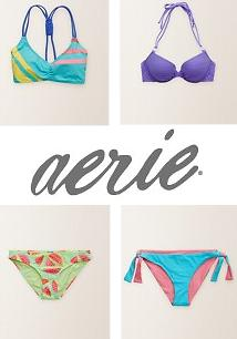Free laundry bag with Any $55 Purchase @ Aerie by American Eagle