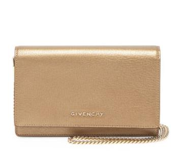 Givenchy  Pandora Leather Wallet, Golden @ Neiman Marcus