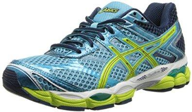 ASICS Women's Gel-Cumulus 16 Running Shoe, Turquoise/Sharp Green/Navy, 6.5 M US