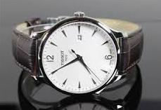 Tissot Men's Silver Dial Tradition Watch