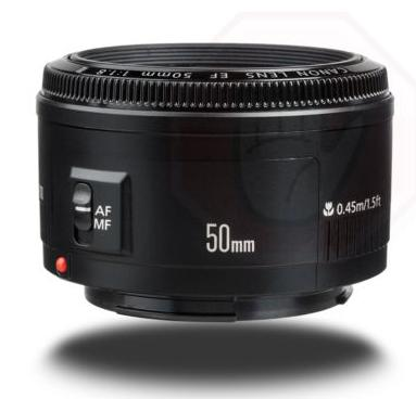 Canon EF 50mm F/1.8 II Standard Auto Focus Lens