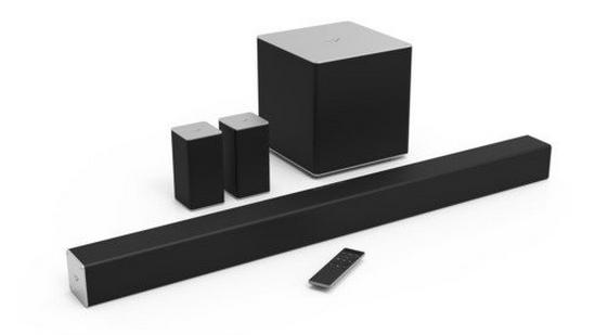 With Prime Member VIZIO SB4051-C0 40-Inch 5.1 Channel Sound Bar with Wireless Subwoofer and Satellite Speakers