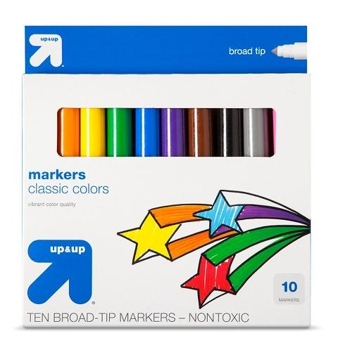 $0.74 up & up™ Broadline Markers 10ct