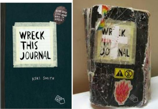 From $6.63 (REG $15) Wreck this Journal @ Amazon.com