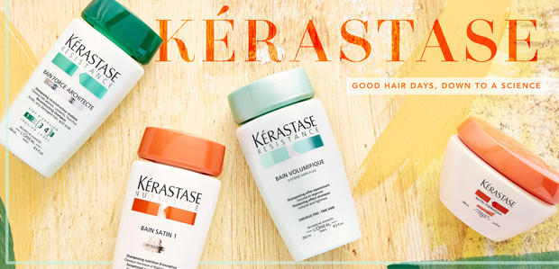 Up to 25% Off Kérastase Haircare on Sale @ Rue La La