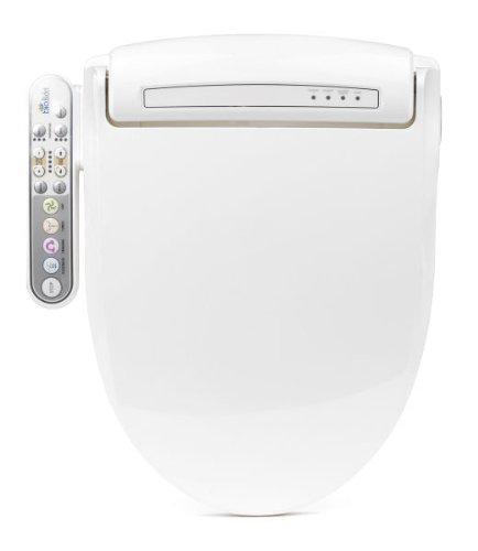 Bio Bidet BB-800 Prestige Bidet Toilet Seat, Elongated White