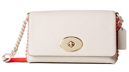 COACH Whip Lash Pop Lacing Crsstown Crossbody