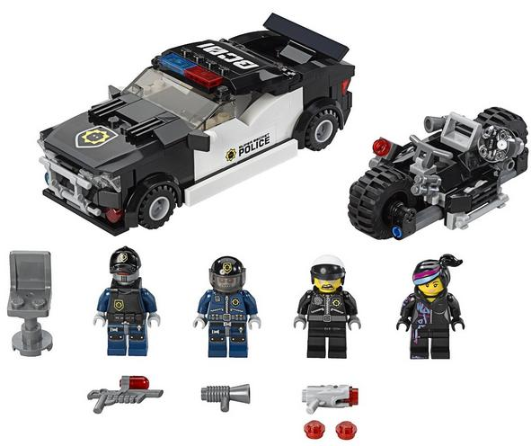 LEGO Movie Bad Cop Car Chase Block 70819