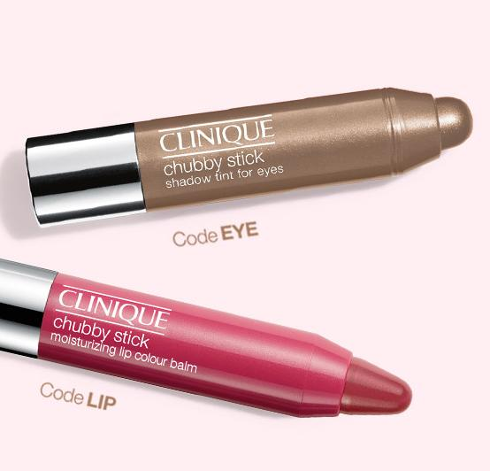 Free Chubby Eye or Chubby Lip Sample with Any $35 Purchase @ Clinique