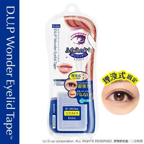 D.U.P Wonder Eyelid Tape Extra - 120 pcs