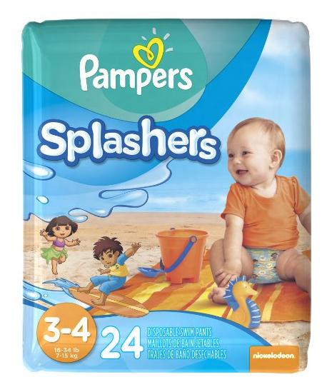 $4.49 Pampers Splashers Swim Diapers