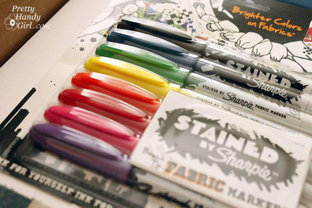 Sharpie Stained Permanent Fabric Marker, Assorted, 8-Pack