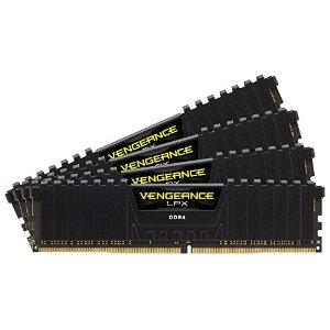 Corsair Vengeance LPX 16GB (4 x 4GB) DDR4 2666 (PC4-21300) 2666MHz C16 memory kit