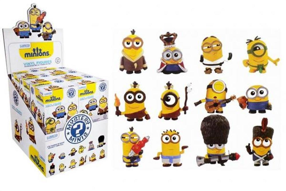 $64.99 Minions Movie Mystery Minis Mini-Figure Display Box