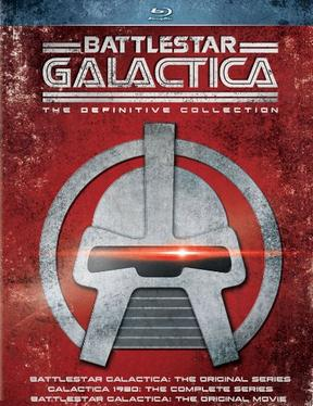 $22.99 Battlestar Galactica: The Definitive Collection (Blu-ray)