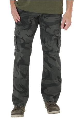 $5.98 Wrangler Men's Loose Fit Twill Cargo Pants