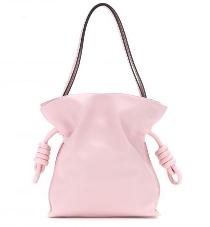 $1950 + Free Shipping Loewe Flamenco Knot Small Leather Shoulder Bag
