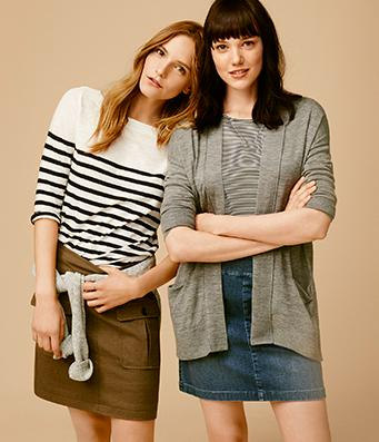 Buy 1 Get 1 50% Off Full-Price Tops and Sweaters @ Loft