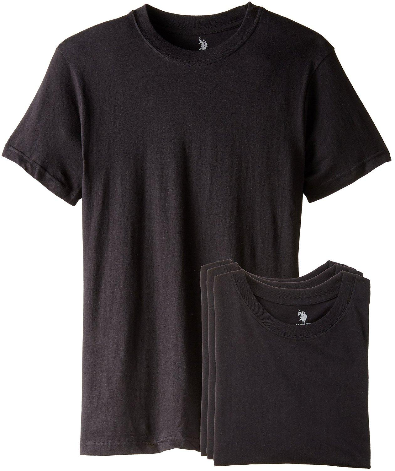 U.S. POLO ASSN. Men's 3 Pack Crew Tee