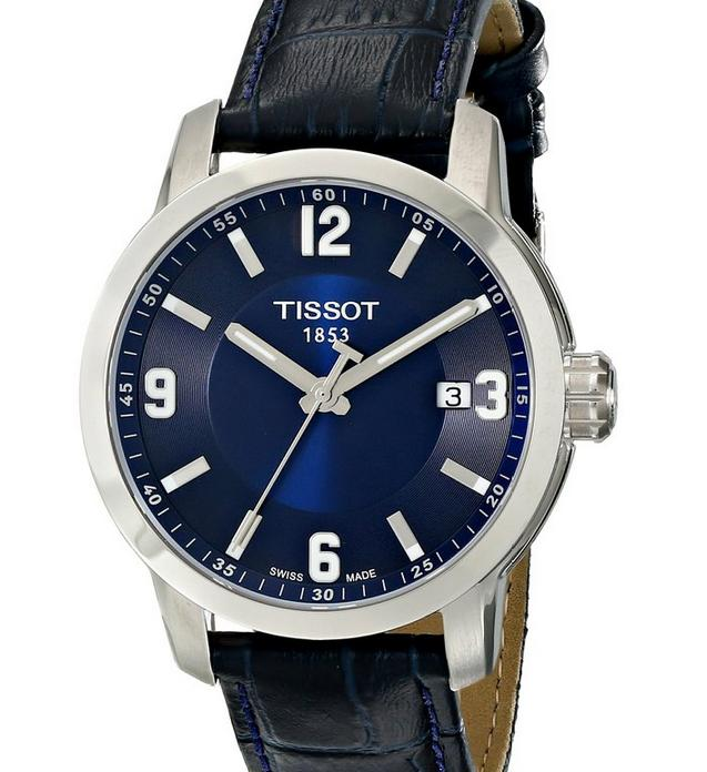 Tissot Men's Quartz Blue Watch